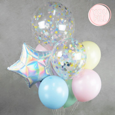 The Pastel Party Balloon DIY Kit - You Fill