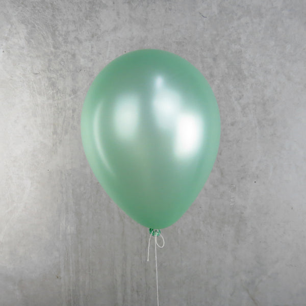 Pearl Lime Green - Helium Balloon