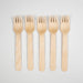 Eco Wooden Cutlery - Wooden Forks - Biodegradable