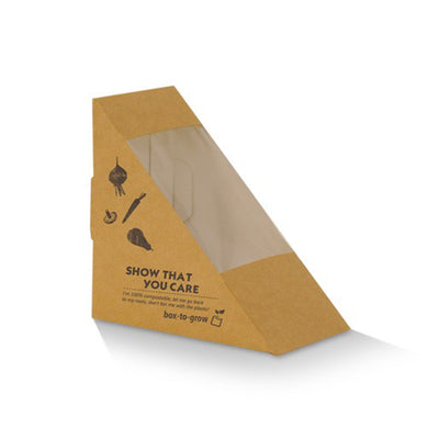 Sandwich Wedge Box