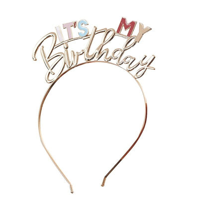 It's My Birthday Metal Headband | Pack of 1