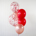 I Wanna Know What Love Is | Valentine's Day Balloon Bouquet - Helium Filled | 7-12 Hours Float Time