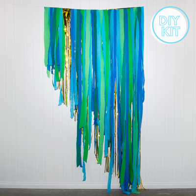Jungle Party Streamer Backdrop | DIY Kit