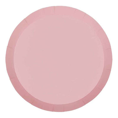 Classic Pink Paper Plates 23cm (Pack of 10)