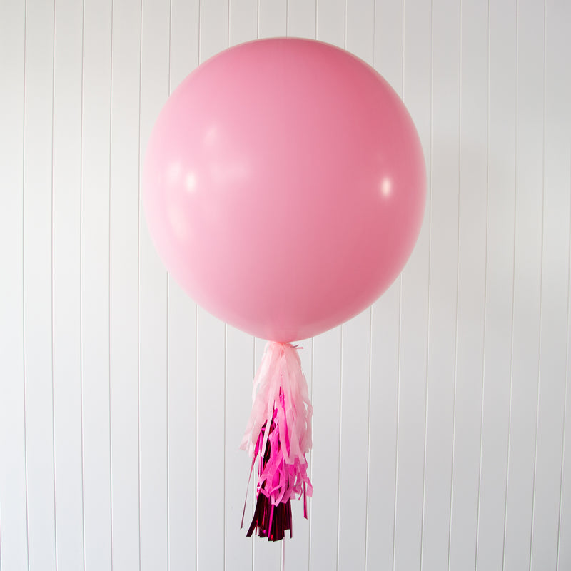 Pink Jumbo Balloon - Helium Filled | 7-12 Hours Float Time