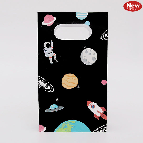 Space Theme Paper Party Bags (Pack of 6)