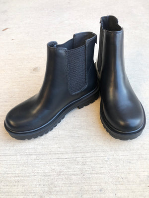 Chunky Black Boot