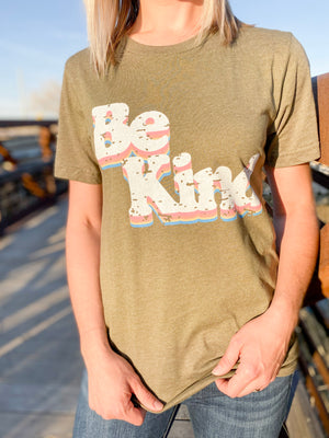 Retro Be Kind Graphic Tee