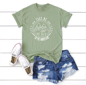 Take Me To The Mountains Graphic Tee