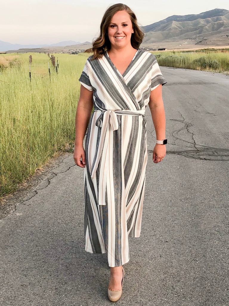 Multi-Striped Dress