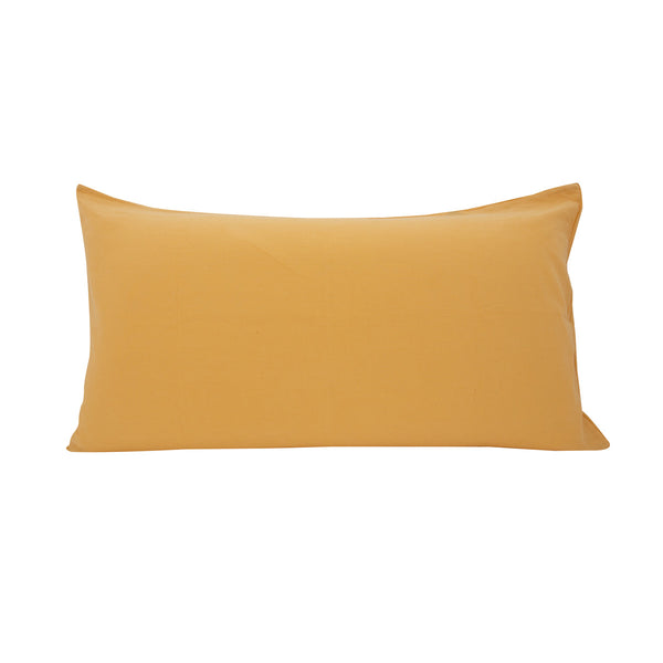 Cotton Linen Pillowslip in Melon