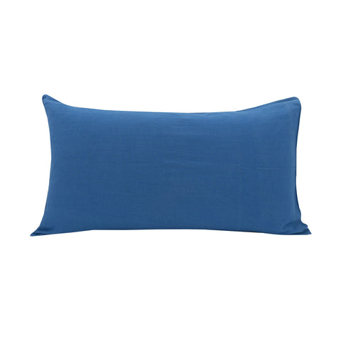 Linen Blend Pillowslip in Sky Blue