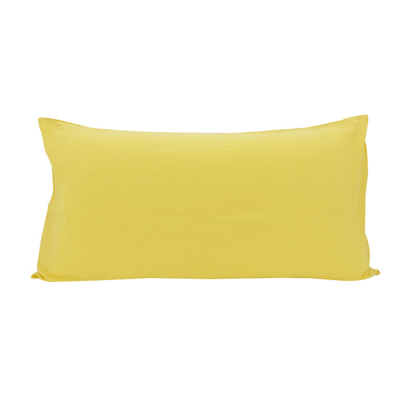 Cotton Linen Pillowslip in Sunshine