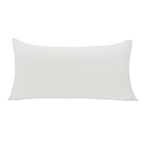 Linen Blend Pillowslip in White