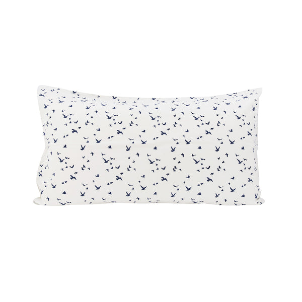 *SALE* Flock Pillowslip in Navy SET OF 2