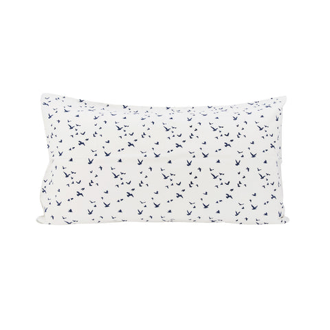 Flock Pillowslip in Navy