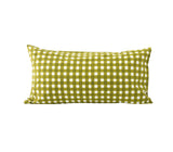 *SALE* Gingham Pillowslip in Olive SET OF 2