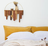 Velvet Pillowslip in Mustard