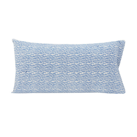 Ripples Pillowslip in Sky Blue