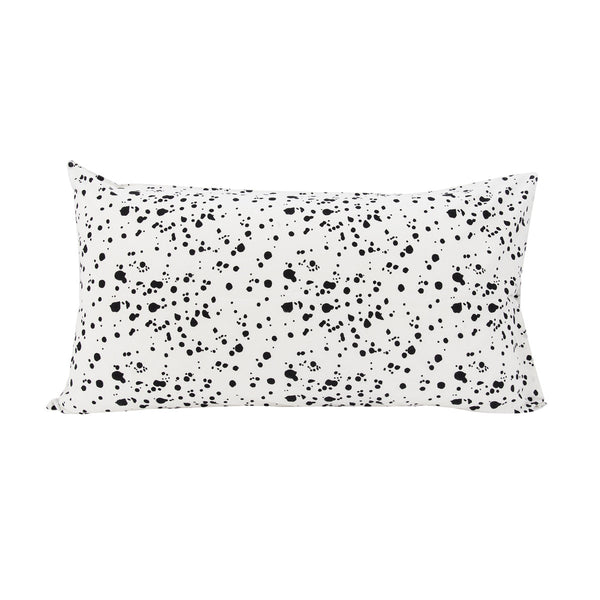 Speckled Pillowslip in Black