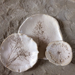 Botanical print plate set