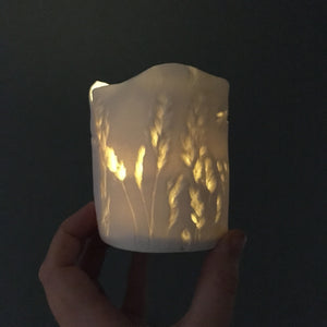 Meadow porcelain tea light holder no.2
