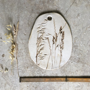 Meadow Grass platter large