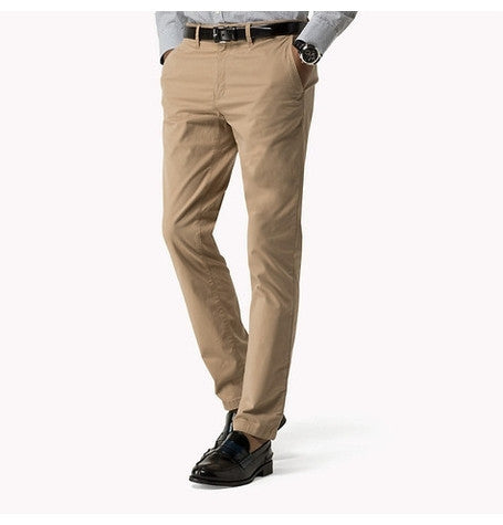 Denton Batique Khaki Twill Chinos