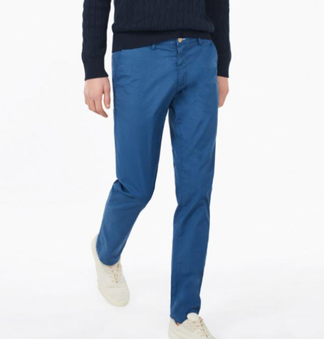 Hurricane Blue Summer Slim Chinos