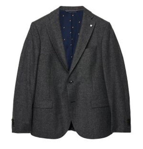 Antracit Salt & Pepper Melange Blazer