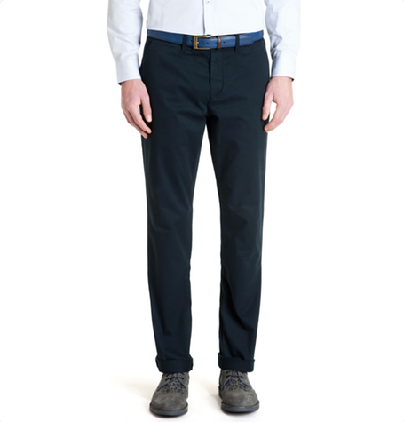 Navy Chaade Chinos