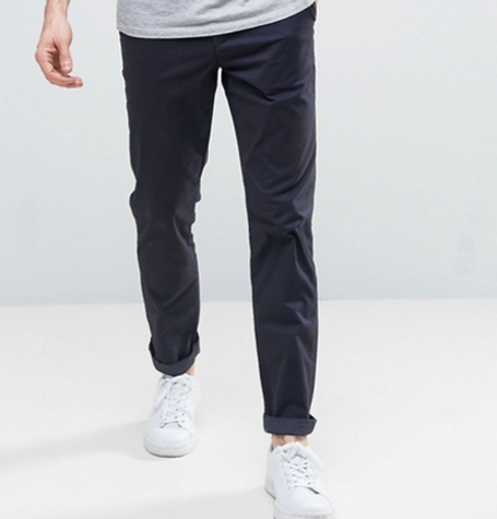 Navy Can Chinos