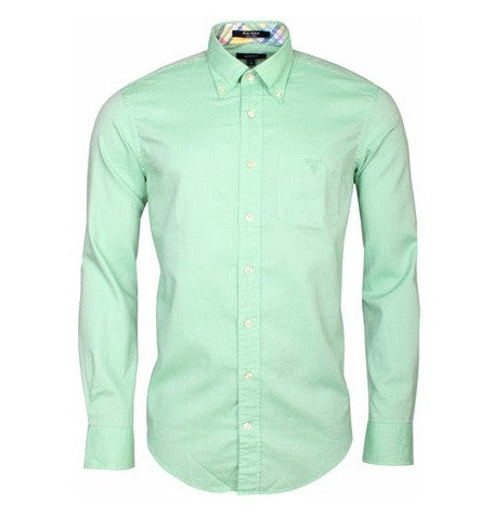 Lime Green Linen Shirt