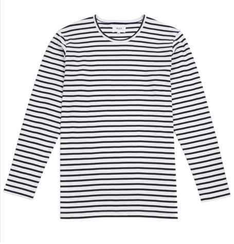 Duval Long Sleeve Stripe T-shirt
