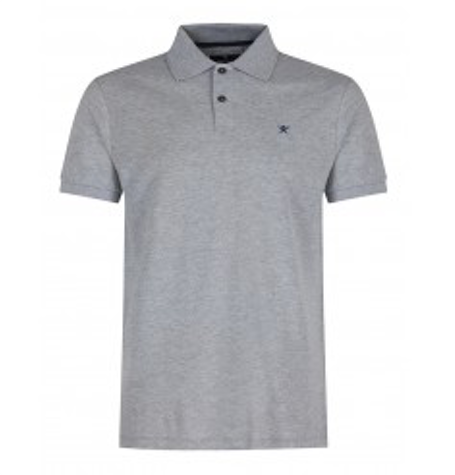 Charcoal Tailored Logo Polo