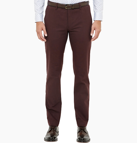 Dark Red Chinos