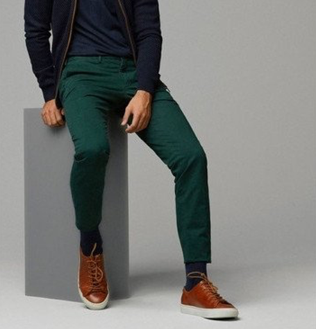 Forest Green Chinos