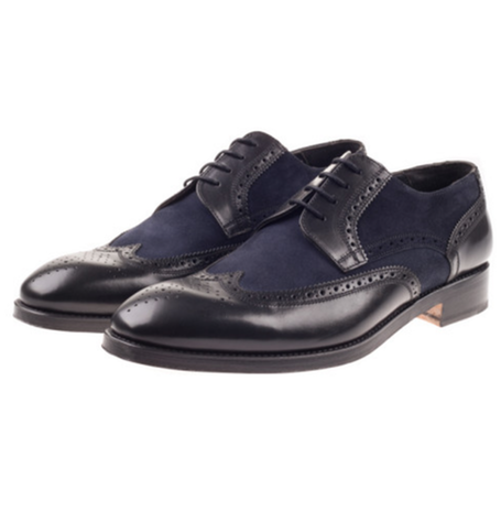 Boswell Black/Navy Shoe
