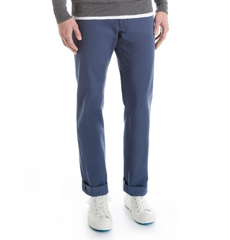 Pewter Blue Chino