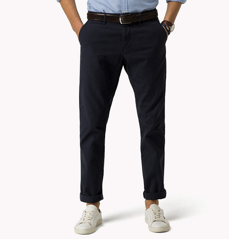 Navy Five Pocket Chino