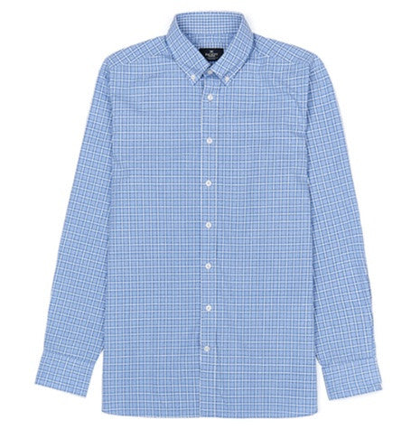 Blue Domingo Melange Shirt