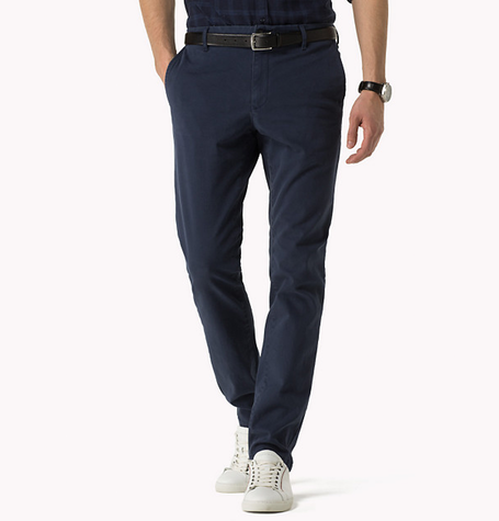 Midnight Bleecker Organic Twill Chinos