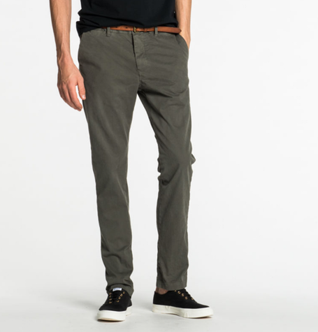 Khaki Regular Fit Chino