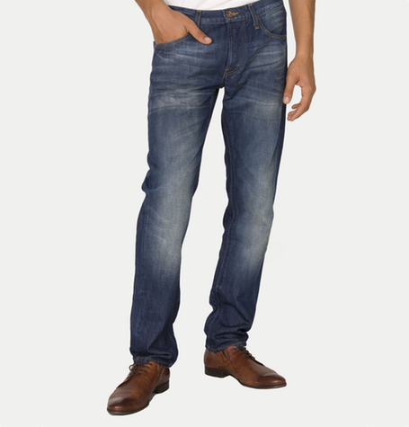 Daren Worn In Jeans Blue