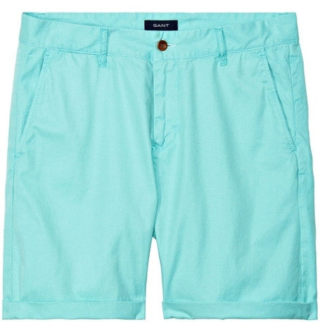 Pastel Green Summer Chino Shorts