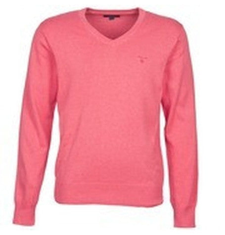 Fuchsia V-Neck Jumper