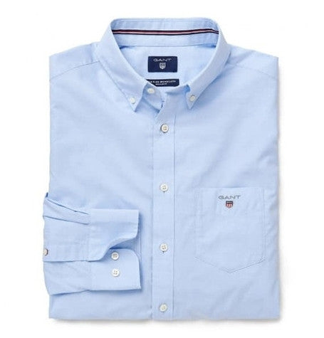 Broadcloth Nightfall Blue shirt