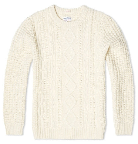 The Cable Ivory Jumper