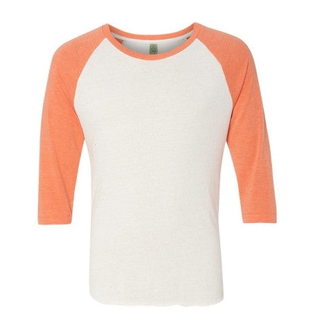 Cream & Orange Long Sleeve T-Shirt