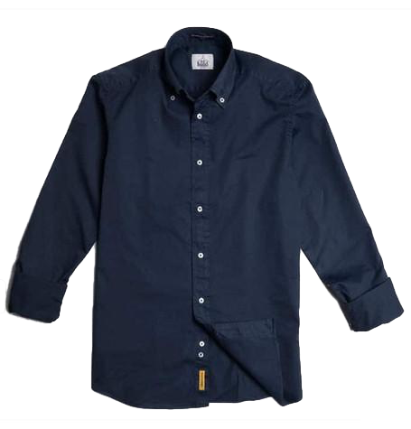 Dexter Plain Dark Navy Shirt